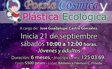Taller de Poesía Cósmica y Plástica Ecológica