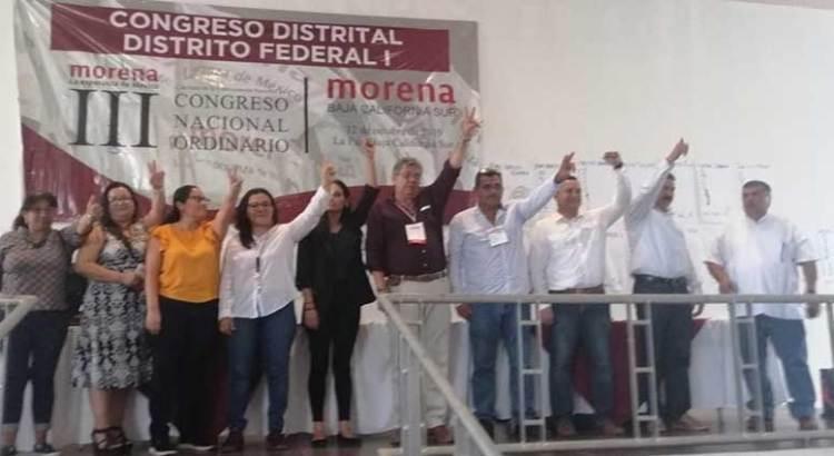 Eligió Morena a sus 20 delegados
