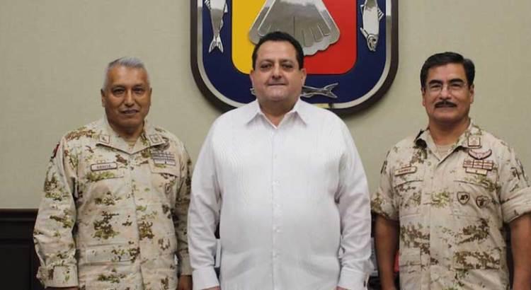 Agradece CMD coordinación con Fuerzas Armadas