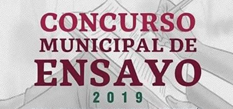 Gran respuesta al Concurso Municipal de Ensayo