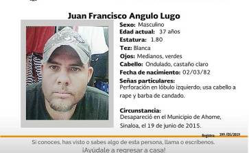 ¿Has visto Juan Francisco Angulo Lugo?