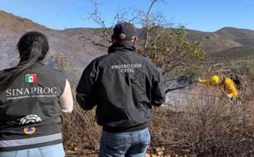 Reportan control del 95% de incendio en Tecate
