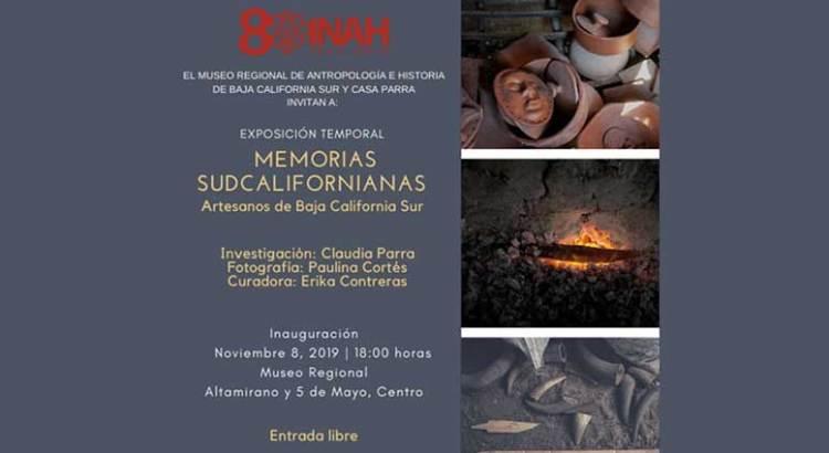 "Invitan a «Memorias Sudcalifornianas"""