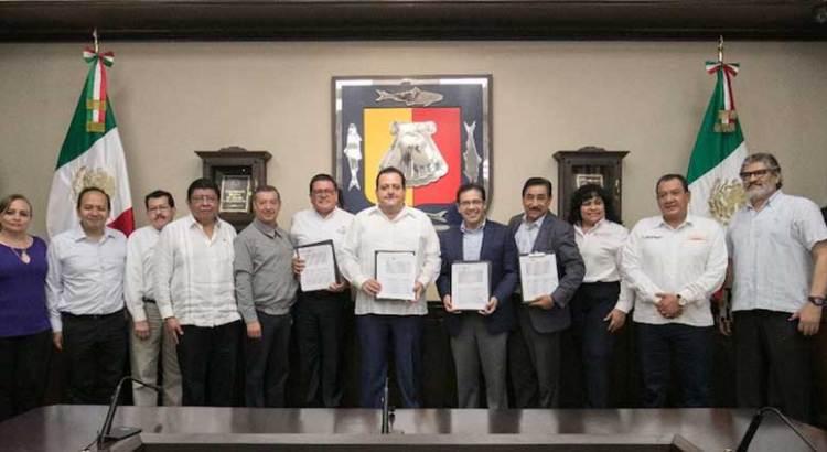 Firman Convenio de Reconocimiento de Adeudo el Gobierno del Estado e ISSSTE