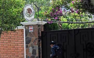 «Jamás violará la inmunidad» de una Embajada