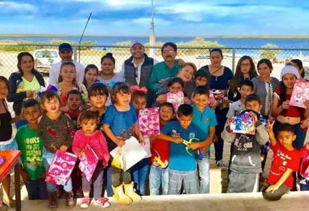 Ofrece FEVIDA AC posada a niños comundeños