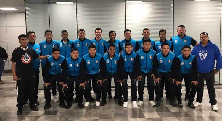 Viajó selección de futbol de BCS al Nacional 2020