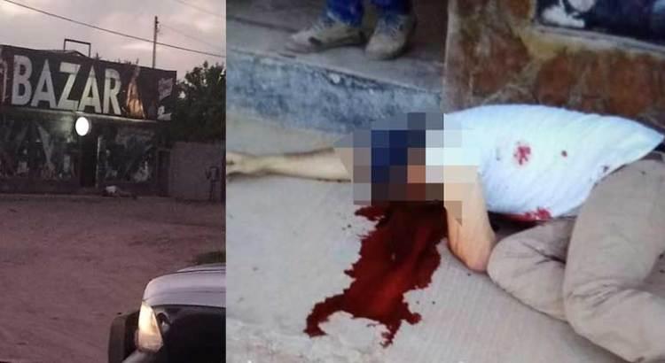 """Lo ejecutaron a las puertas del """"Bazar"""""""