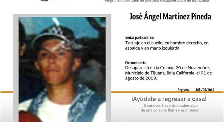 ¿Has visto a José Ángel Martínez Pineda?