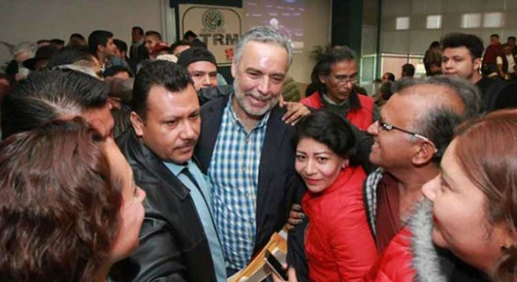 Confirma TEPJF a Ramírez Cuellar como presidente de Morena