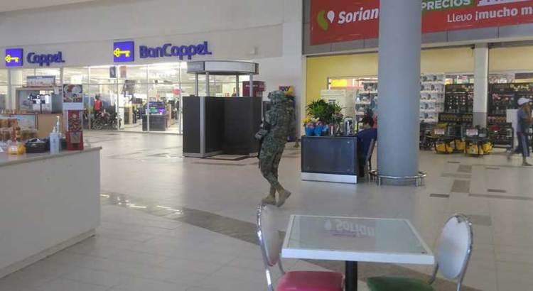 Resguarda Guardia Nacional centros comerciales de Los Cabos