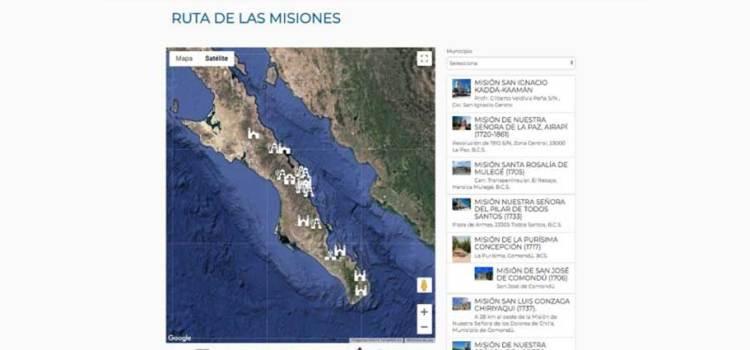 Sigue la ruta de las misiones
