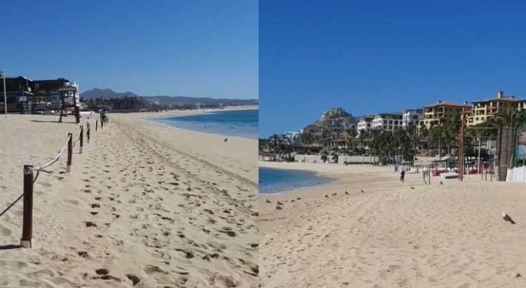 Solas las playas cabeñas