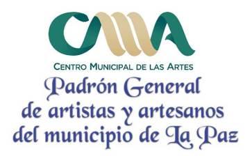 Intégrate al Padrón de Artistas y Artesanos de La Paz