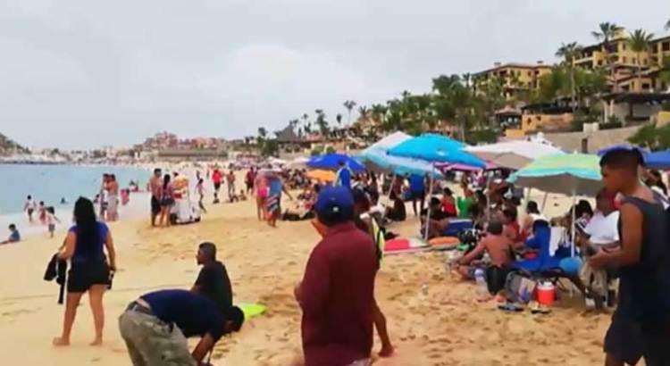 Rebasaron playas cabeñas el aforo permitido