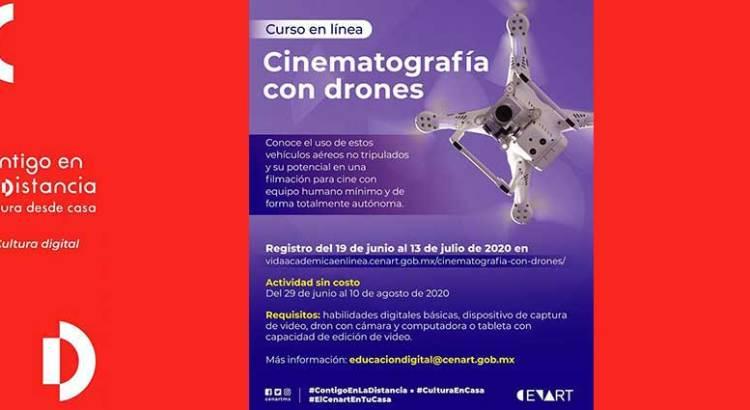 Invitan a curso «Cinematografía con Drones»