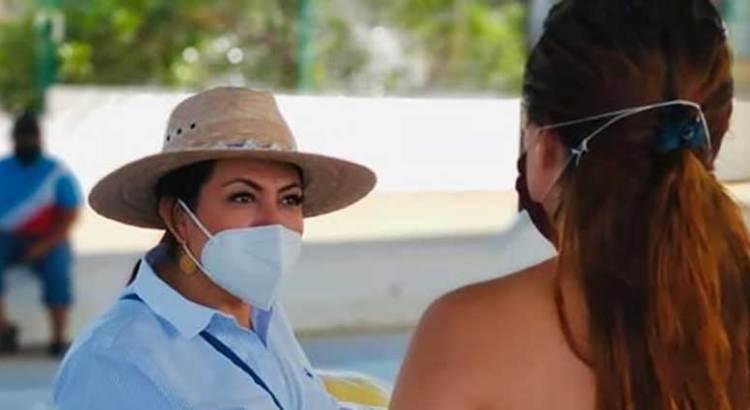 Lupita Saldaña, de nuevo en campaña
