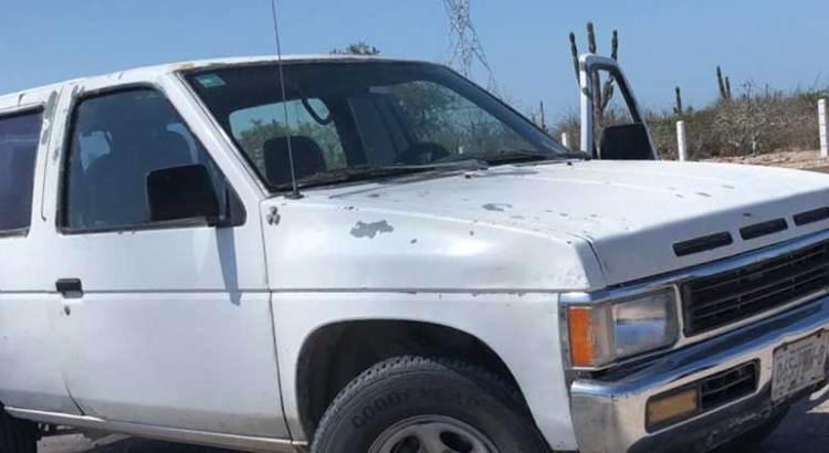 Recuperan camioneta en La Paz