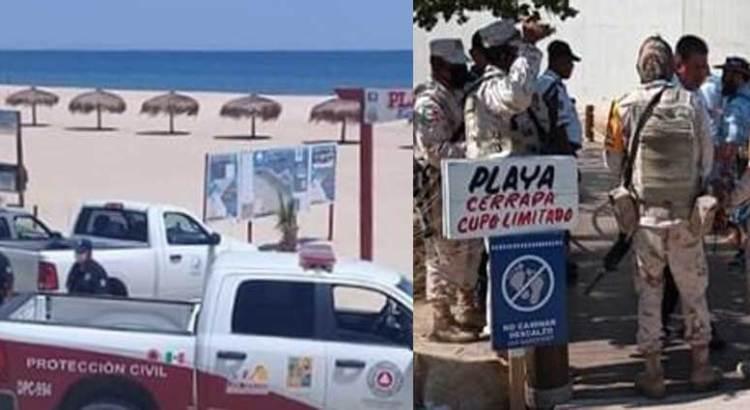 Implementan mega operativo en playas de Los Cabos