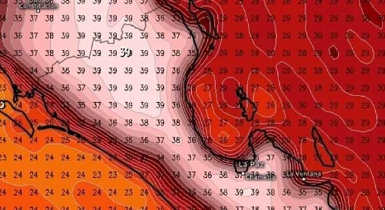 Sufrirá BCS altas temperaturas los próximos tres días