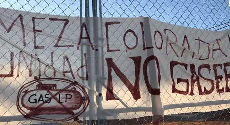 Se manifestaron vecinos de Mesa Colorada