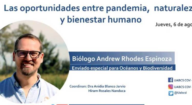 Invitan a webinar sobre pandemia y bienestar humano