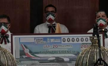 """Aquí están los ganadores del Gran Sorteo """"Avión presidencial"""""""