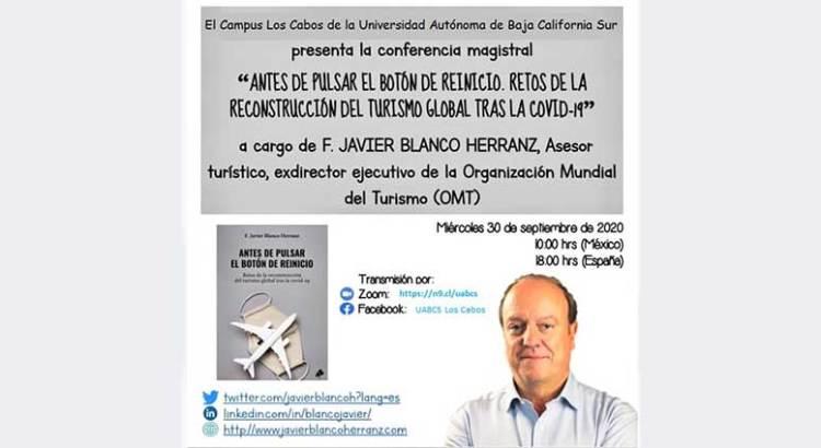 Invitan a conferencia sobre los retos del sector turismo