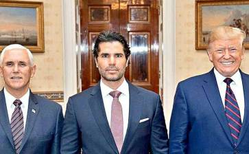 De galán en Televisa a asesor de Trump