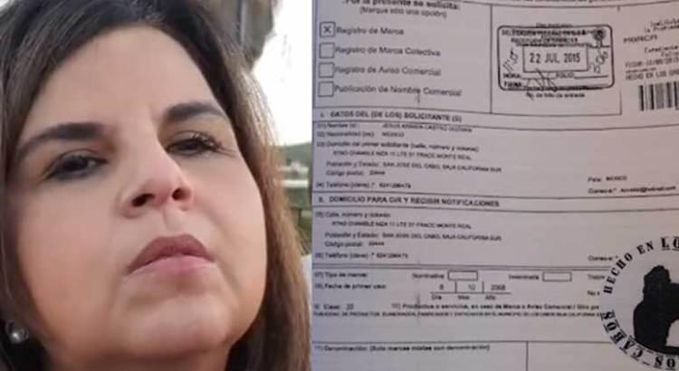 """Denunciarán a Armida Castro por apropiarse de la marca """"Hecho en Los Cabos"""""""