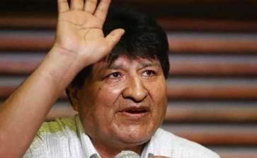 Descarta Evo participar en el nuevo gobierno de Bolivia