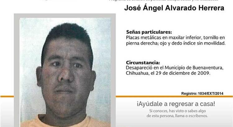 ¿Has visto a José Ángel Alvarado Herrera?