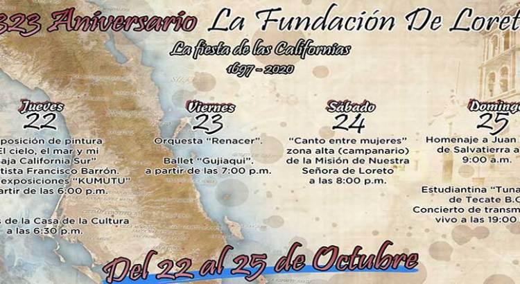 Arrancan las fiestas de fundación de Loreto