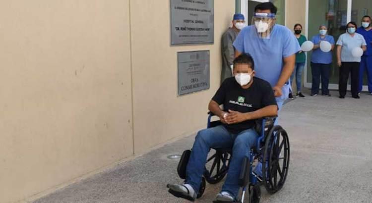 Rebasa BCS los nueve mil pacientes recuperados de covid