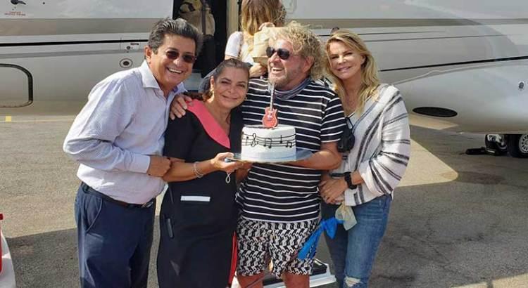 Celebrará Sammy Hagar su cumpleaños en Los Cabos