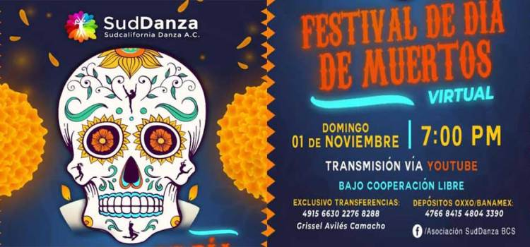 Invitan al festival virtual del día de muertos