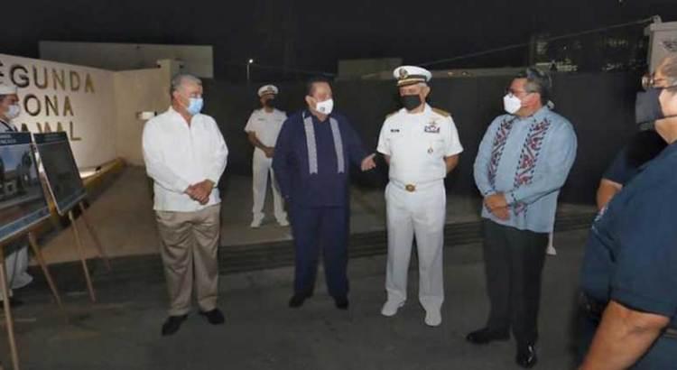 Inicia Gobierno Estatal obras en favor de los marinos militares retirados y de pescadores