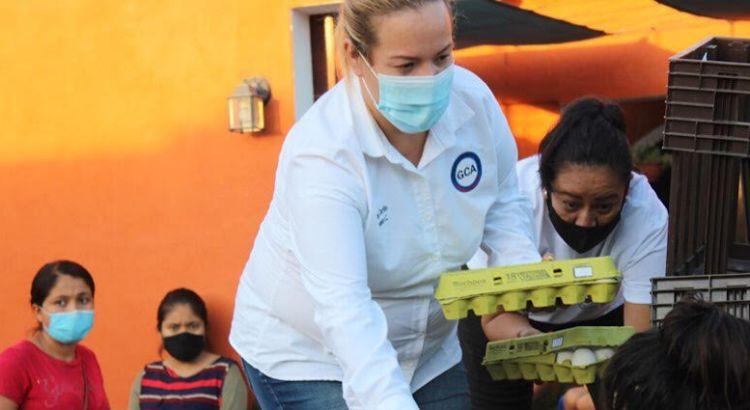 Entregó GCA apoyos a familias sanluqueñas