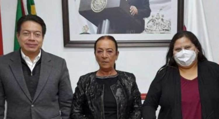 Deja Lucía Trasviña el Senado