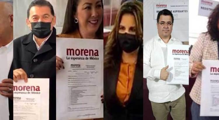 Viernes de registros en Morena
