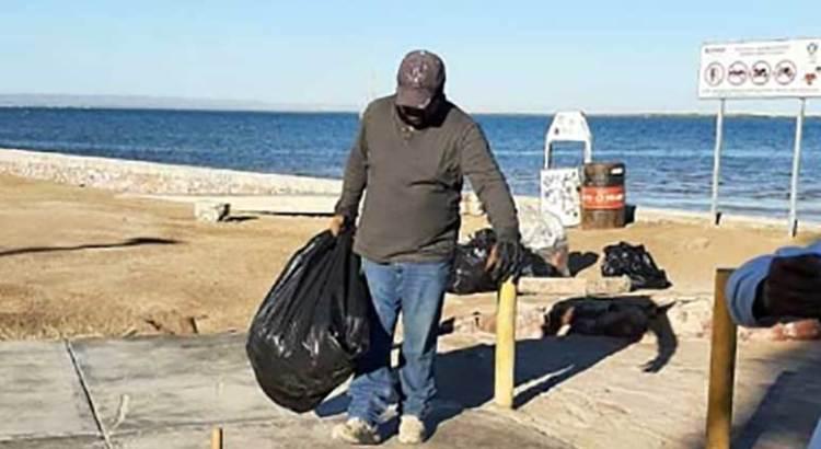 Más de 200 toneladas de basura recolectadas en playas paceñas