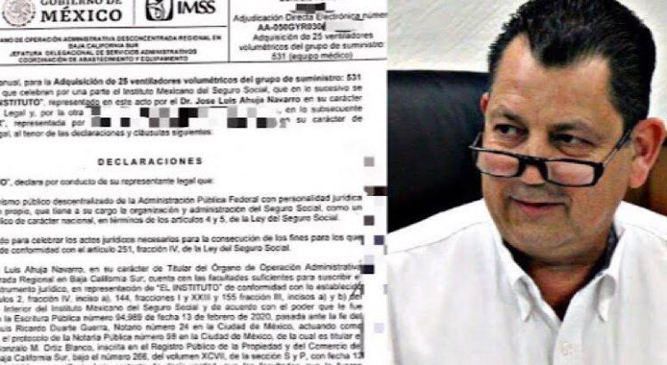 ¡Corrupción en el IMSS de BCS!