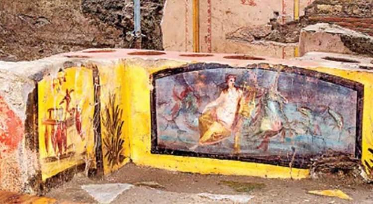 Descubren arqueólogos puesto de comida callejera