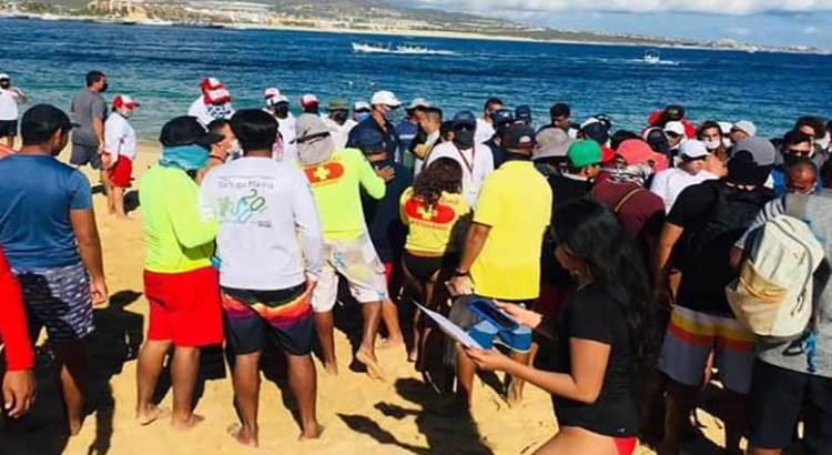 """Concluye seminario de """"Rescate Acuático Los Cabos"""""""