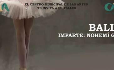Únete al taller de ballet del CMA