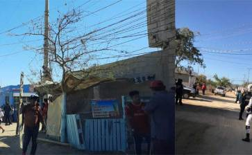 """Retira CFE """"diablitos"""" en Mezquite y Colonia Unida López Obrador"""