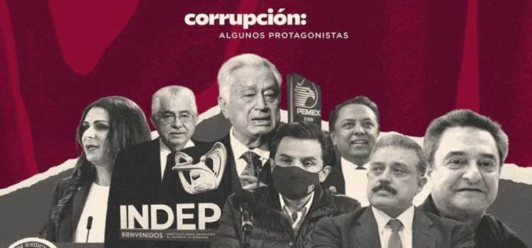 Corrupción: algunos protagonistas