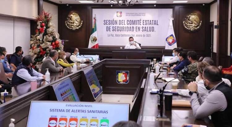 Permanecen La Paz, Comondú y Loreto en Nivel 4 de Alertas Sanitarias