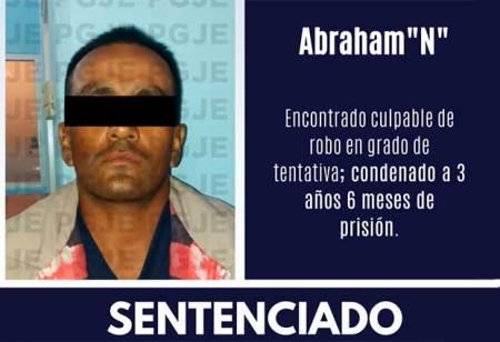 Tres años y medio de cárcel para violento asaltante
