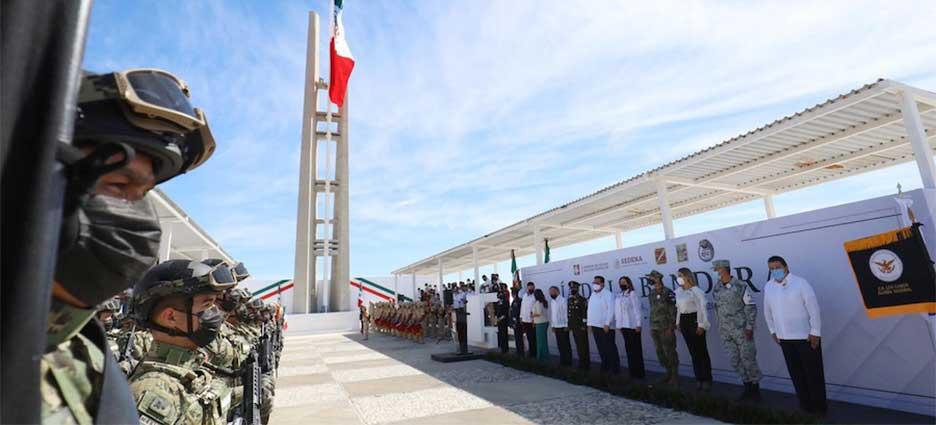 Encabeza Gobernador conmemoración por el Día de la Bandera Nacional